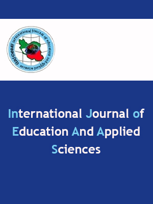 International Journal of Education and Applied Sciences
